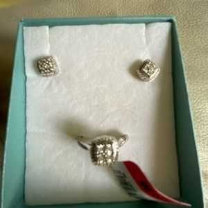 Jewelry - Sterling silver and Diamonds set